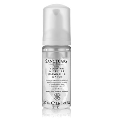 Sanctuary Foaming Micellar Water 50ml by The Sanctuary