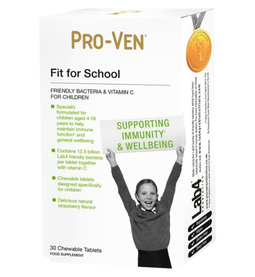 Pro-Ven Fit for School Chewable Tablets - 30 tablets