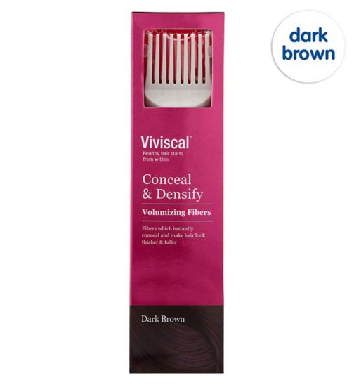 Viviscal Conceal & Densify Volumizing Hair Fibres - Dark Brown