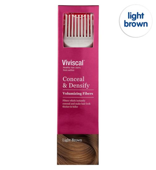 Viviscal Conceal & Densify Volumizing Hair Fibres - Light Brown