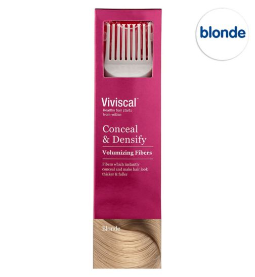 Viviscal Conceal & Densify Volumizing Hair Fibres - Blonde