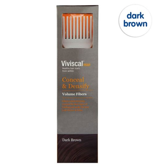 Viviscal Conceal & Densify Volume Hair Fibres - Dark Brown