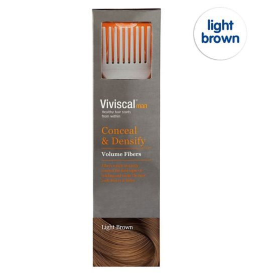 Viviscal Conceal & Densify Volume Hair Fibres - Light Brown