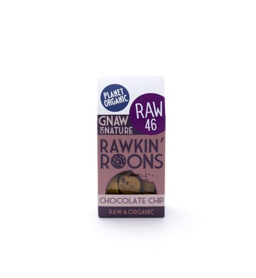 Planet Organic rawkin roons chocolate chip 90g