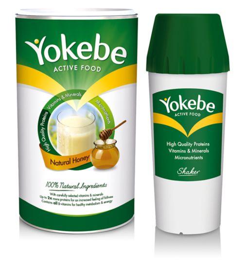 Yokebe Classic Powder & 500ml Shaker Bundle