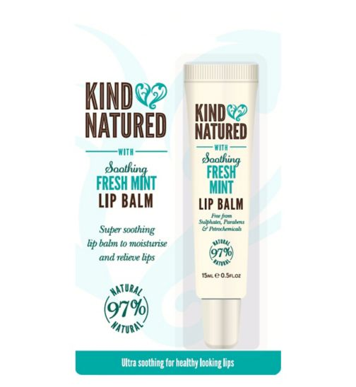 Kind Natured Soothing Fresh Mint Lip Balm 15ml