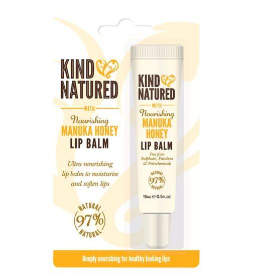 Kind Natured Nourishing Manuka Honey Lip Balm 15ml