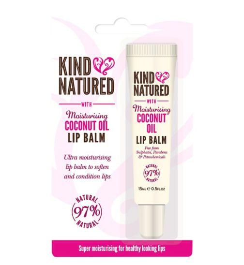 Kind Natured Moisturising Coconut Oil Lip Balm 15ml