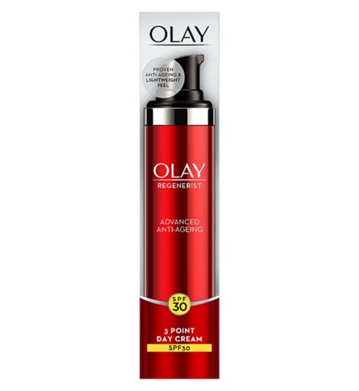 Olay Regenerist 3 Point Moisturiser SPF 30 50ml