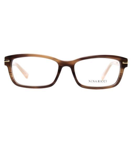 f3f452a2b8fb Nina Ricci VNR018 Women s Glasses - Brown