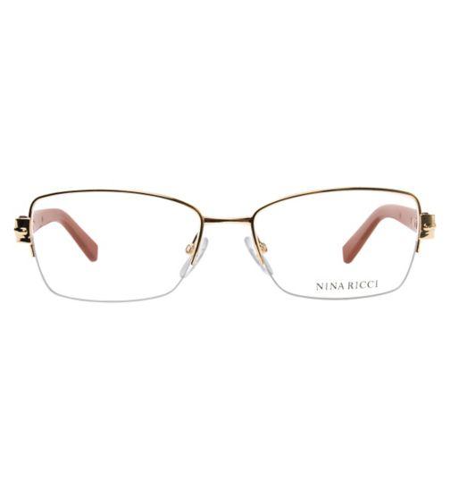 769a6798f4c9 Nina Ricci VNR019 Women s Glasses - Rose Gold