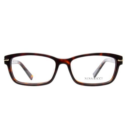 f83cf0bfe10f Nina Ricci VNR018 Women s Glasses - Havana