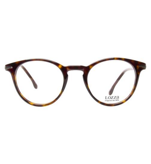 57cf1c1a08b4 Lozza Vintage VL4087 Men s Glasses - Dark Havana