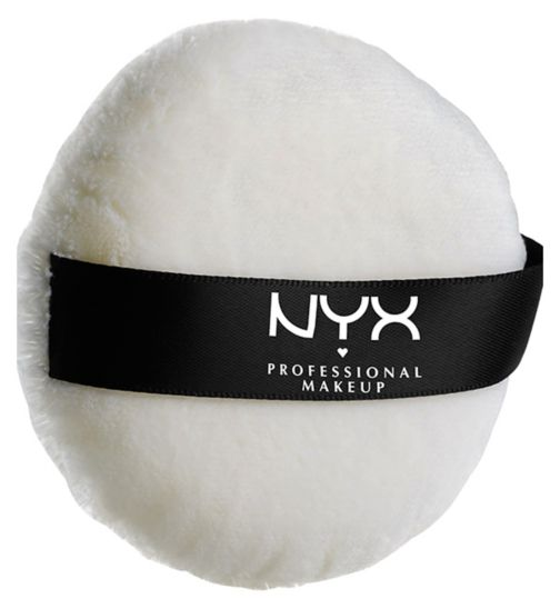 NYX Professional Makeup luxe powder puff large