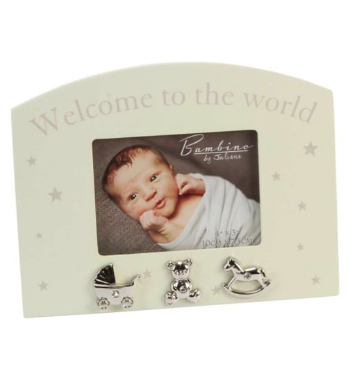 Welcome To The World Baby Frame