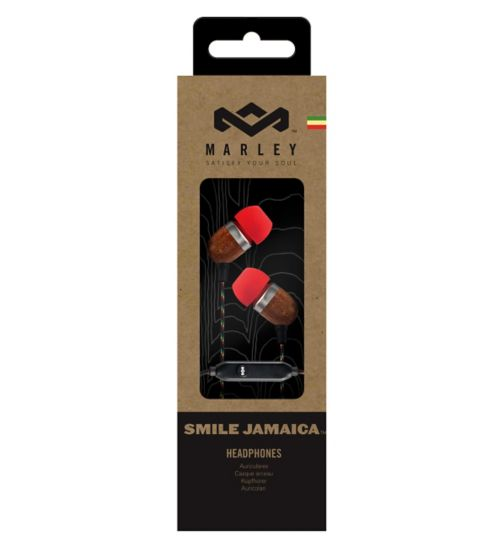 Marley Smile Jamaica In-Ear Headphones