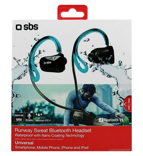 SBS Runway Swim Bluetooth Earphones