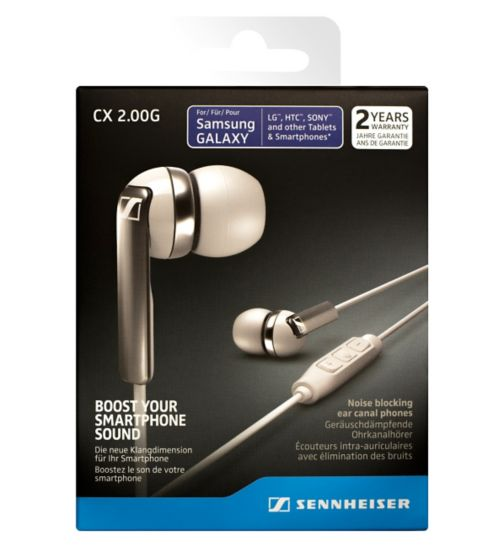 Sennheiser CX2 Earphone With Mic For Android White