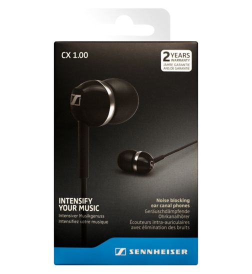 Sennheiser CX1 Earphones Black