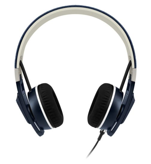 Sennheiser Urbanite On Ear Headphones ios Denim