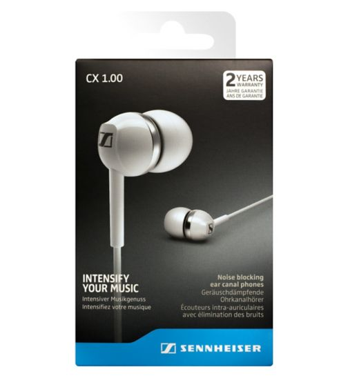 Sennheiser CX1 Earphones White