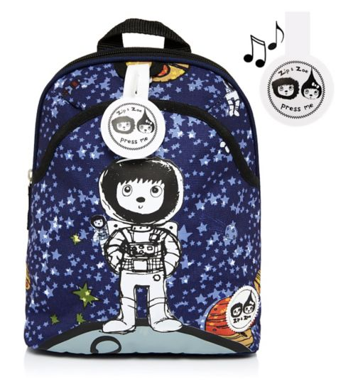 Zip & Zoe Spaceman Mini Backpack