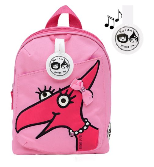 Zip & Zoe Daisy Dragon Face Mini Backpack