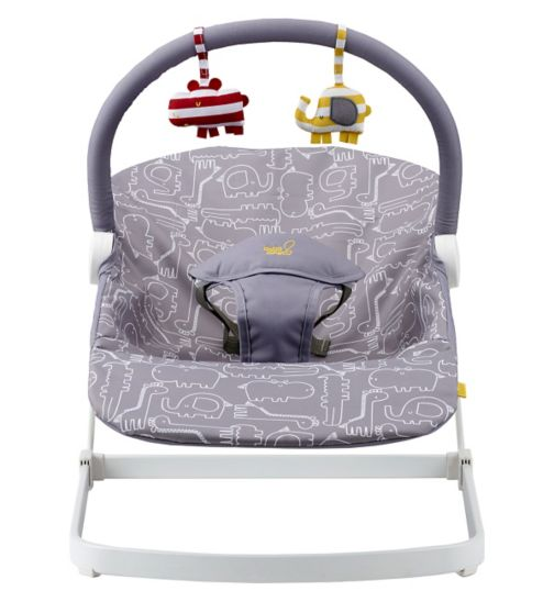 BabaBing! Float baby bouncer Grey