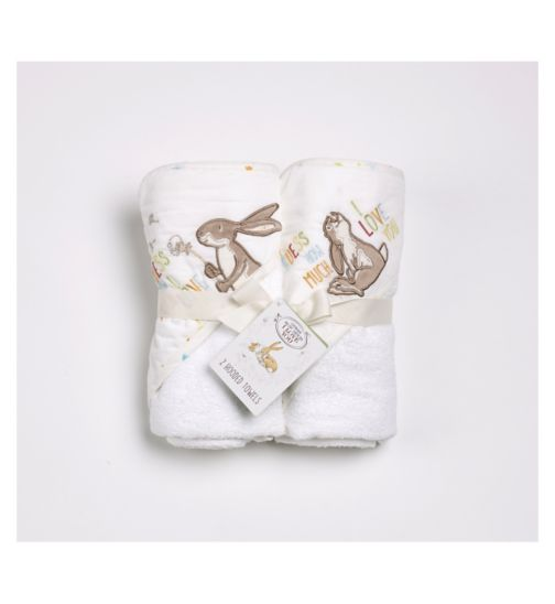 GHMILY hooded towel set