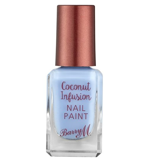 Barry M Coconut Infusion Gel Nail Paint 1 Laguna 10ml