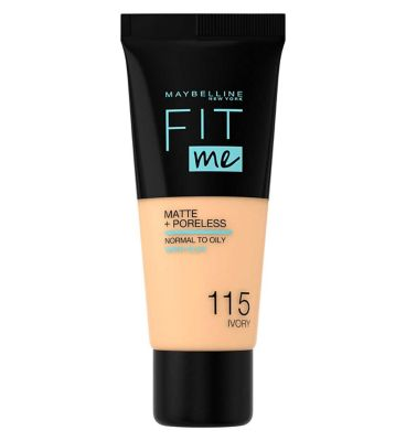 Image result for maybelline fit me matte and poreless
