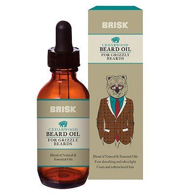 Brisk Cedarwood Beard Oil 50ml