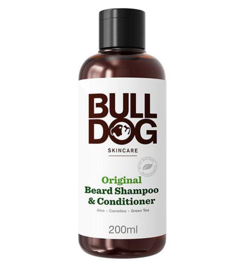 Bulldog Original 2 in 1 Beard Shampoo & Conditioner 200ml