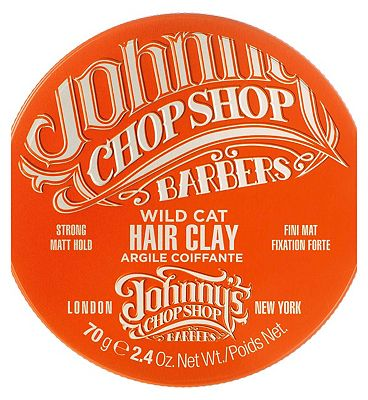 Johnny's Chop Shop Wild Cat Hair Clay 70g