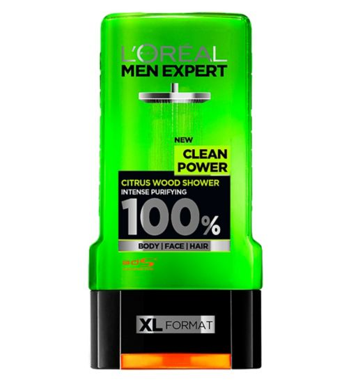 L'Oreal Paris Men Expert Clean Power Shower Gel 300ml