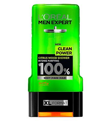 LOreal Men Expert Clean Power Shower Gel 300ml
