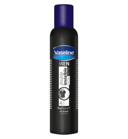 Vaseline Men Double Invisible Compressed antiperspirant 250ml