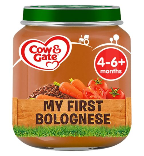 Cow & Gate My First Bolognese from 4-6m Onwards 125g