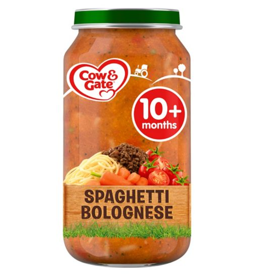 Cow & Gate Spaghetti Bolognese from 10m Onwards 250g