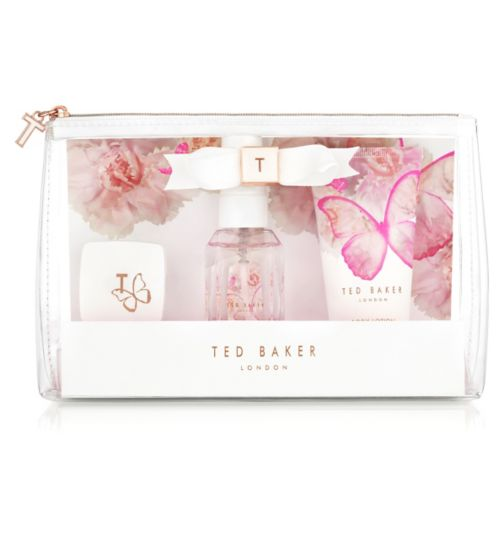 Ted Baker White Mini Beauty Bag