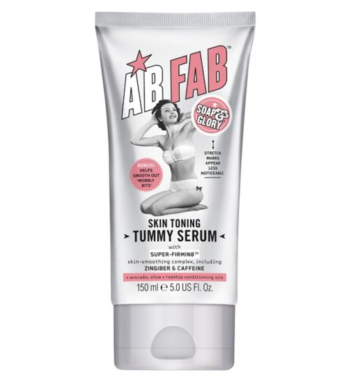 Soap & Glory AB FAB Skin-Toning Tummy Serum 150ml