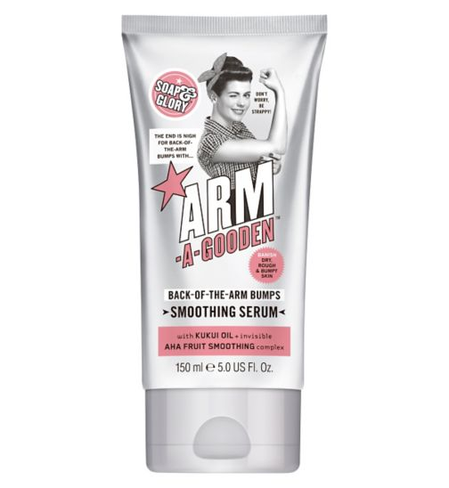 Soap & Glory ARM-A-GOODEN Back-Of-The-Arm Bumps Smoothing Serum 150ml