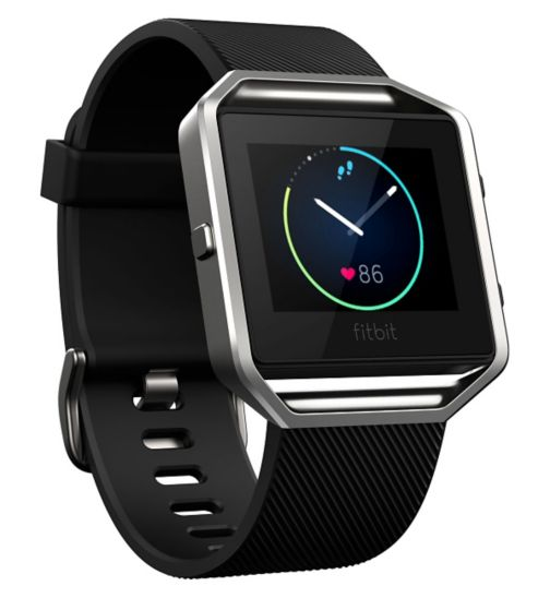 Fitbit Blaze Fitness Super Watch Classic Accessory Band - Black (Large)