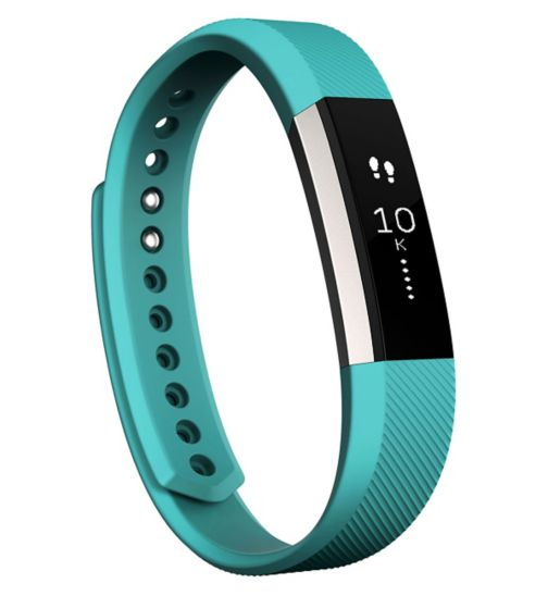 Fitbit Alta Fitness Wristband Classic Accessory Band - Teal (Large)