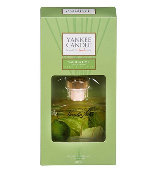 Yankee Reed Diffuser Vanilla Lime 88ml