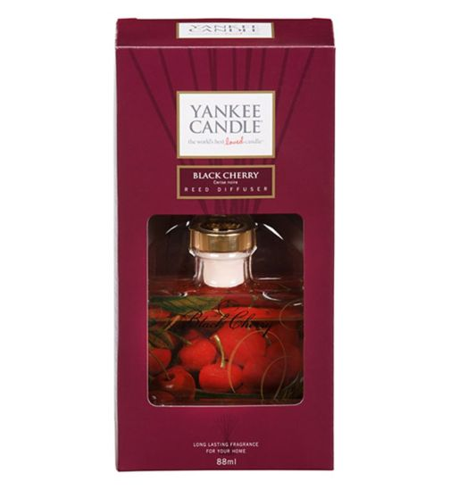 Yankee Reed Diffuser Black Cherry 88ml