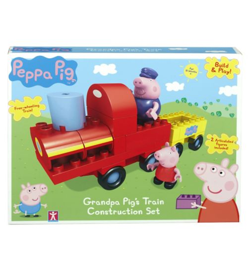Peppa Pig Grandpa Pig's Train Construction Set