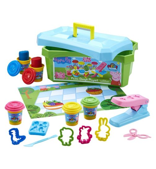 Peppa Pig Picnic Dough Set
