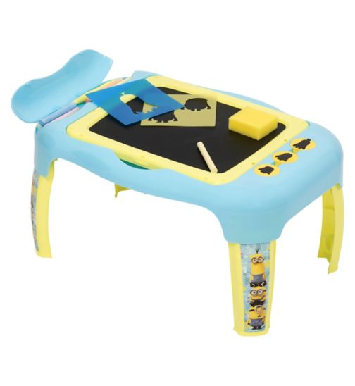 Minions 2 in 1 activity desk