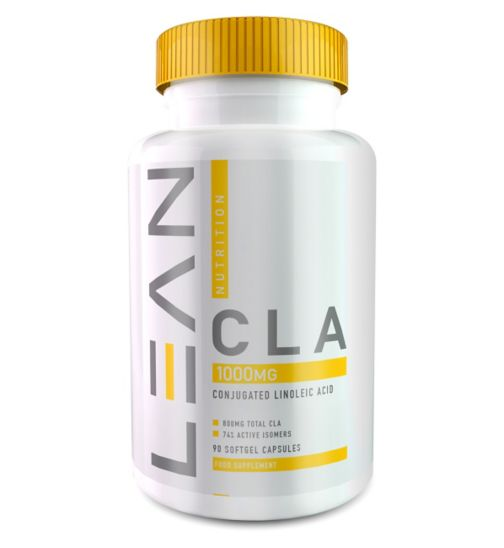 Lean Nutrition CLA 1000mg x 90 Soft Capsules
